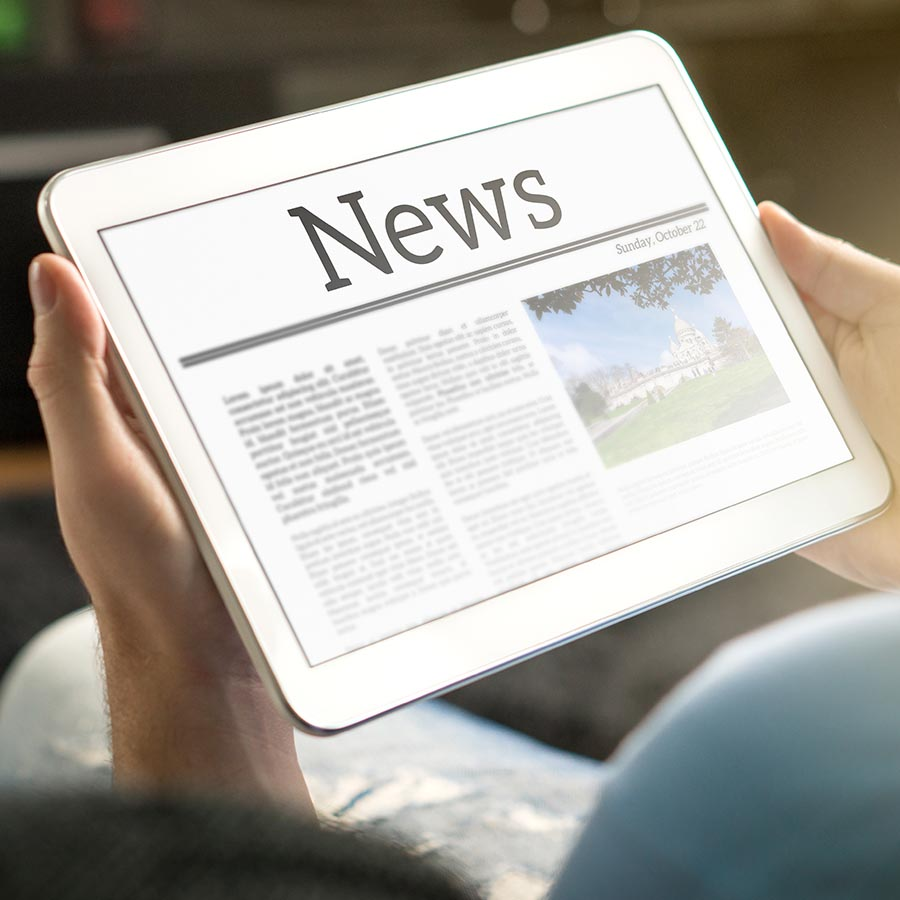 News blog and newsletter posts
